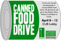 Enmu's Canned Food Drive – Food Bank Of Eastern New Mexico pertaining to Canned Food Drive Flyer Template