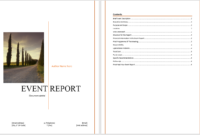 Event Report Template – Microsoft Word Templates regarding After Event Report Template