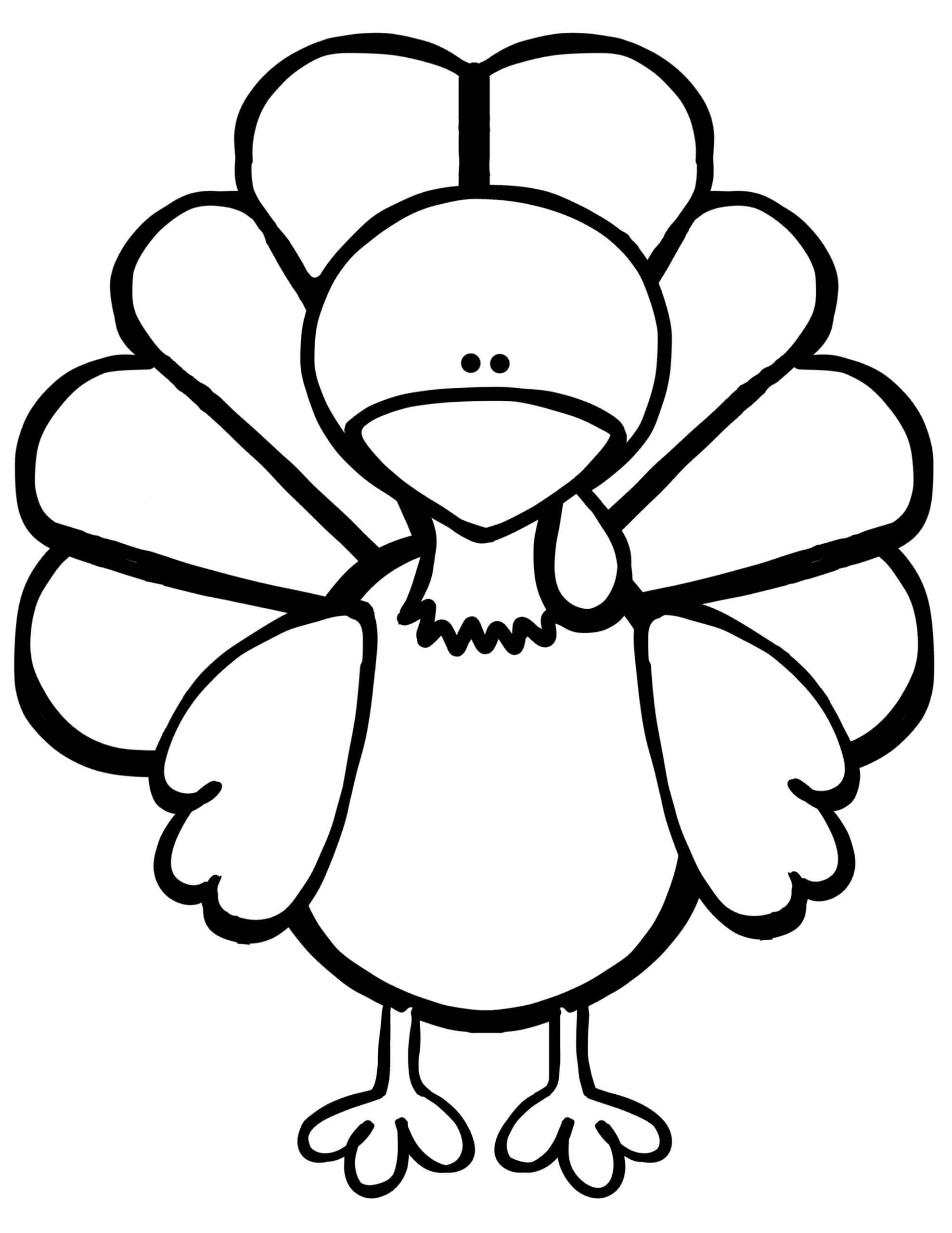 Everything You Need For The Turkey Disguise Project - Kids Inside Blank Turkey Template