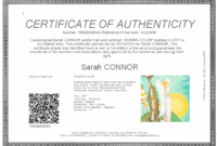Everything You Need To Know About Coa + Certificate Of inside Certificate Of Authenticity Template