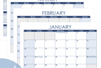 Excel Calendar Template For 2020 And Beyond pertaining to 2 Week Calendar Template
