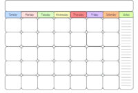 Exceptional Kids Printable Calendar | Coleman Blog regarding Blank Calendar Template For Kids