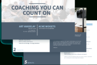 Executive Coaching Proposal Template – Free Sample | Proposify inside Business Coaching Contract Template