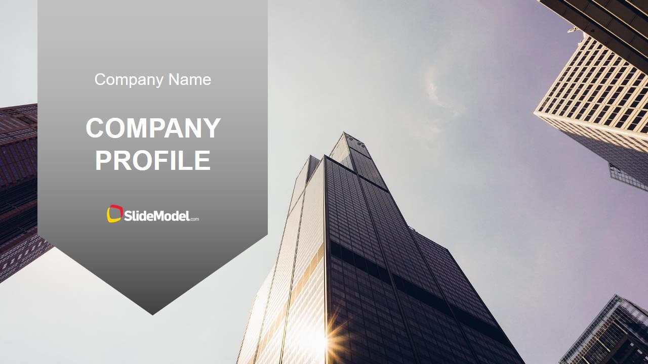 Executive Company Profile Powerpoint Template Pertaining To Business Profile Template Ppt