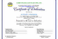 F096280 30 Baby Dedication Certificate Templates with regard to Baptism Certificate Template Word