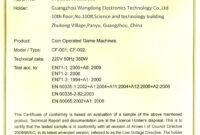 🥰 Blank Printable Certificate Of Conformity [Coc] Form within Certificate Of Conformance Template