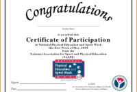 🥰free Printable Certificate Of Participation Templates (Cop)🥰 inside Certification Of Participation Free Template