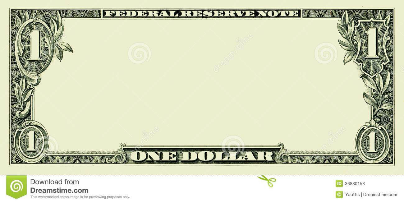 Fake Money Template Photoshop Elegant Bank Note Clipart For Bank Note Template