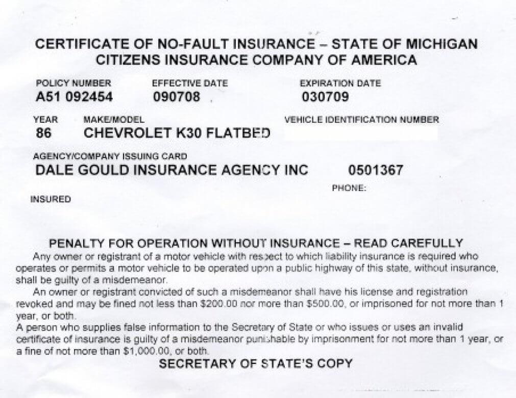 Fake Proof Of Insurance Card Regarding Car Insurance Card Template Free