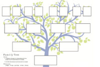 Family Tree Portrait Template – Colona.rsd7 in Blank Family Tree Template 3 Generations