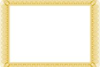 Fancy Certificate Template ] – Voucher Certificate Template in Award Certificate Border Template