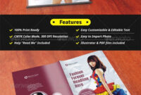 Fashion Brochure Template – 54+ Free Psd, Eps, Ai, Indesign intended for 12 Page Brochure Template