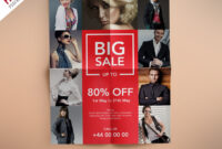 Fashion Retail Sales Flyers Free Psd Template | Psdfreebies pertaining to Boutique Flyer Template Free