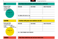 Fillable Online Aafa Asthma Action Plan (Pdf) – Asthma And with Asthma Action Plan Template