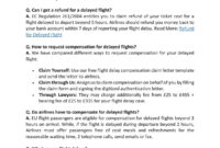 Flight Compensation Letter Templateclaim Flights – Issuu inside Bank Charges Refund Letter Template