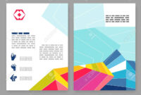 Flyer, Leaflet, Booklet Layout. Editable Design Template. A4.. in 2 Fold Flyer Template