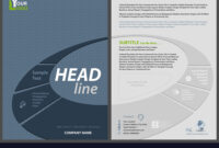 Flyer Template With Elliptical Banner intended for Adobe Illustrator Flyer Template