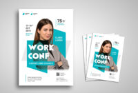 Flyer Template – Work Career Conference within Career Flyer Template