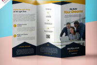Folding Flyers Templates – Tunu.redmini.co with Brochure Templates Ai Free Download