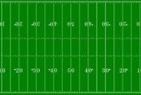 Football Field Clipart Free regarding Blank Football Field Template