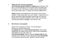 Fourth Grade Book Report Outline in Book Report Template 4Th Grade