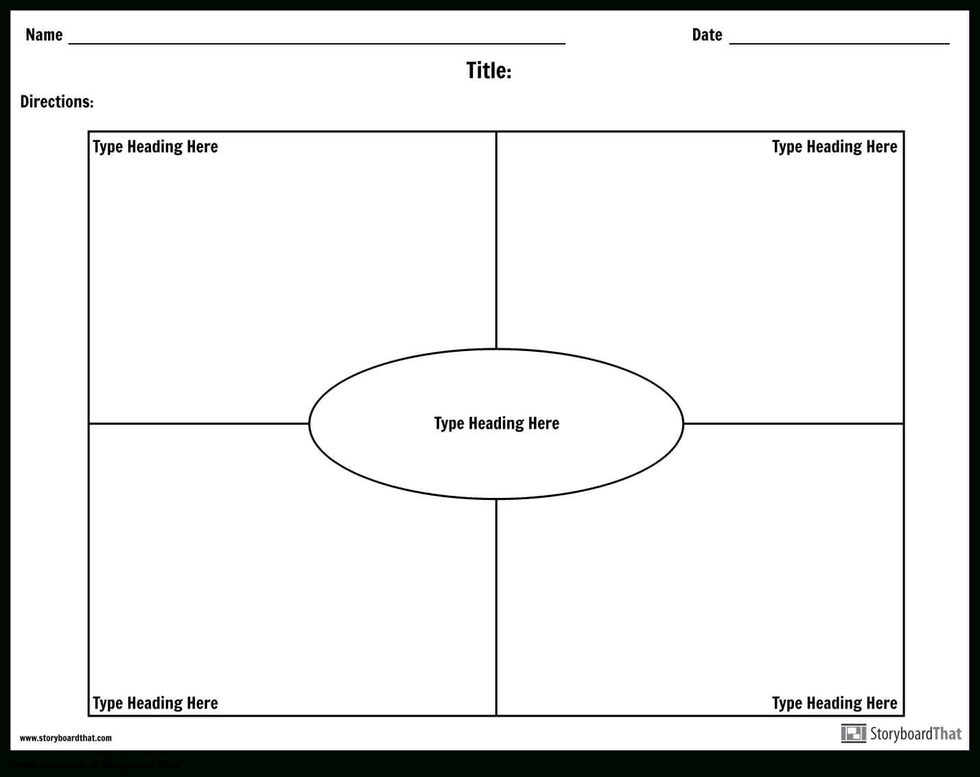 Frayer Model Worksheet Templates | Frayer Model Maker For Blank Frayer Model Template