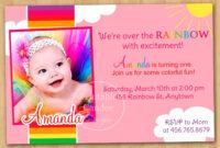 Free 1St Birthday Invitation Templates Printable regarding 1St Birthday Invitation Templates Free Printable