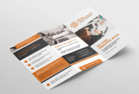 Free 3-Fold Brochure Template For Photoshop & Illustrator intended for Brochure 3 Fold Template Psd