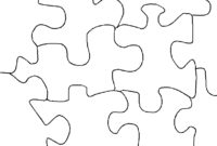 Free 3 Piece Jigsaw Puzzle Template, Download Free Clip Art regarding Blank Jigsaw Piece Template