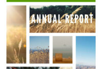 Free Annual Report Templates & Examples [6 Free Templates] for Annual Report Template Word Free Download