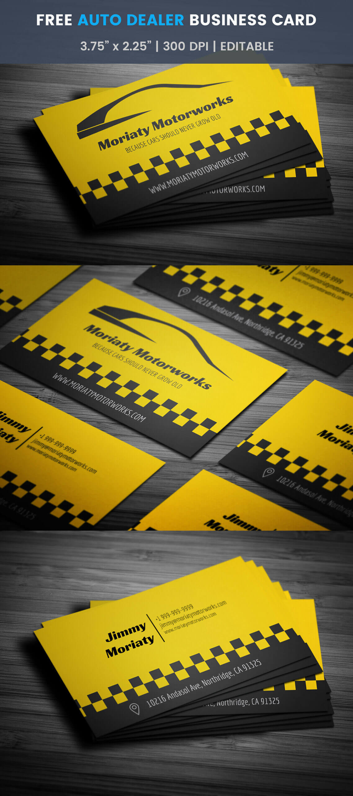 Free Automotive Business Card Template On Student Show Throughout Automotive Business Card Templates