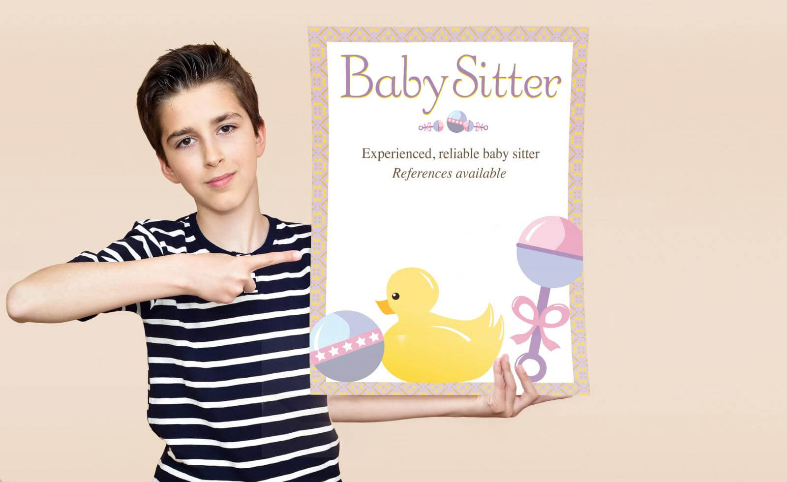 Free Babysitting Flyer Templates And Ideas | Lovetoknow Intended For Babysitting Flyer Free Template