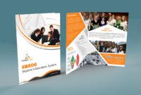 Free Bi-Fold Brochure Psd On Behance regarding 2 Fold Brochure Template Psd