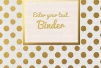 Free Binder Cover – Tunu.redmini.co for Business Binder Cover Templates