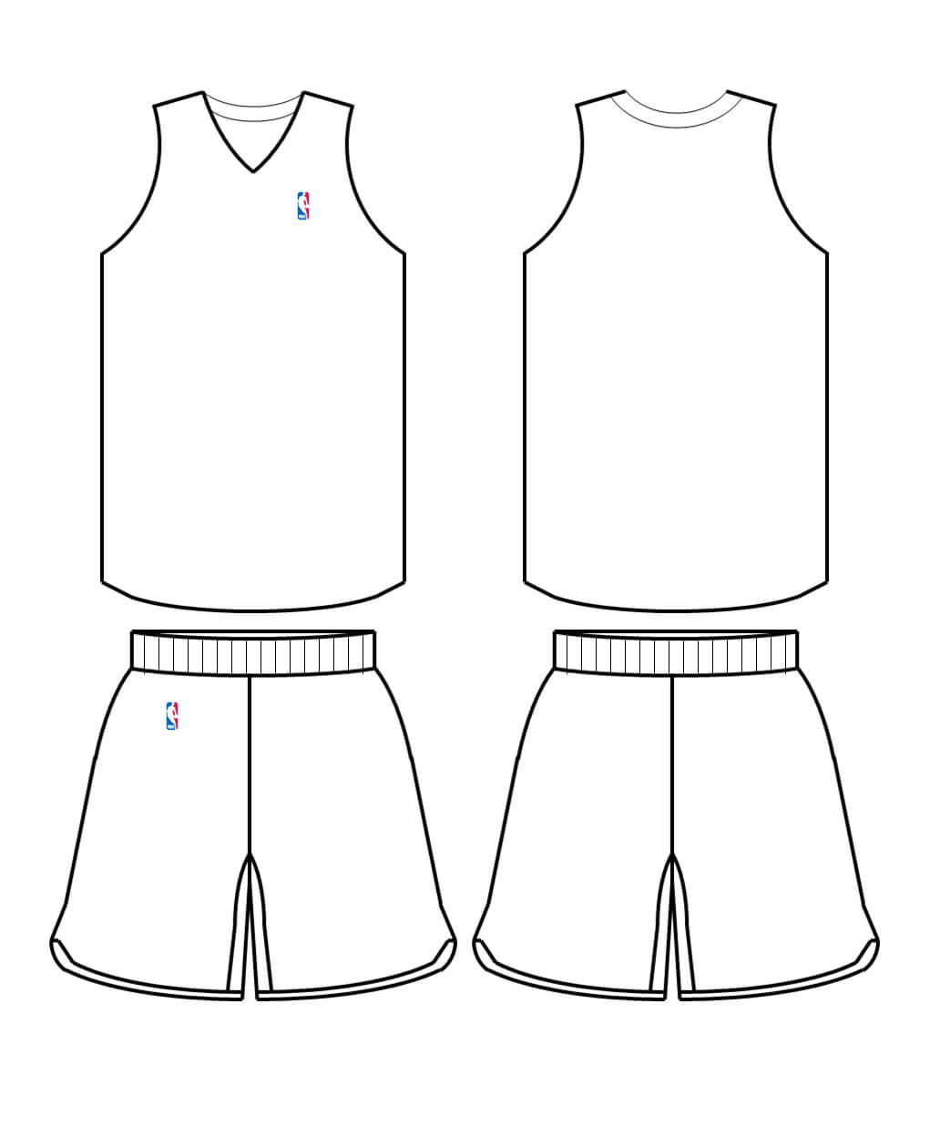 Free Blank Basketball Jersey, Download Free Clip Art, Free Pertaining To Blank Basketball Uniform Template