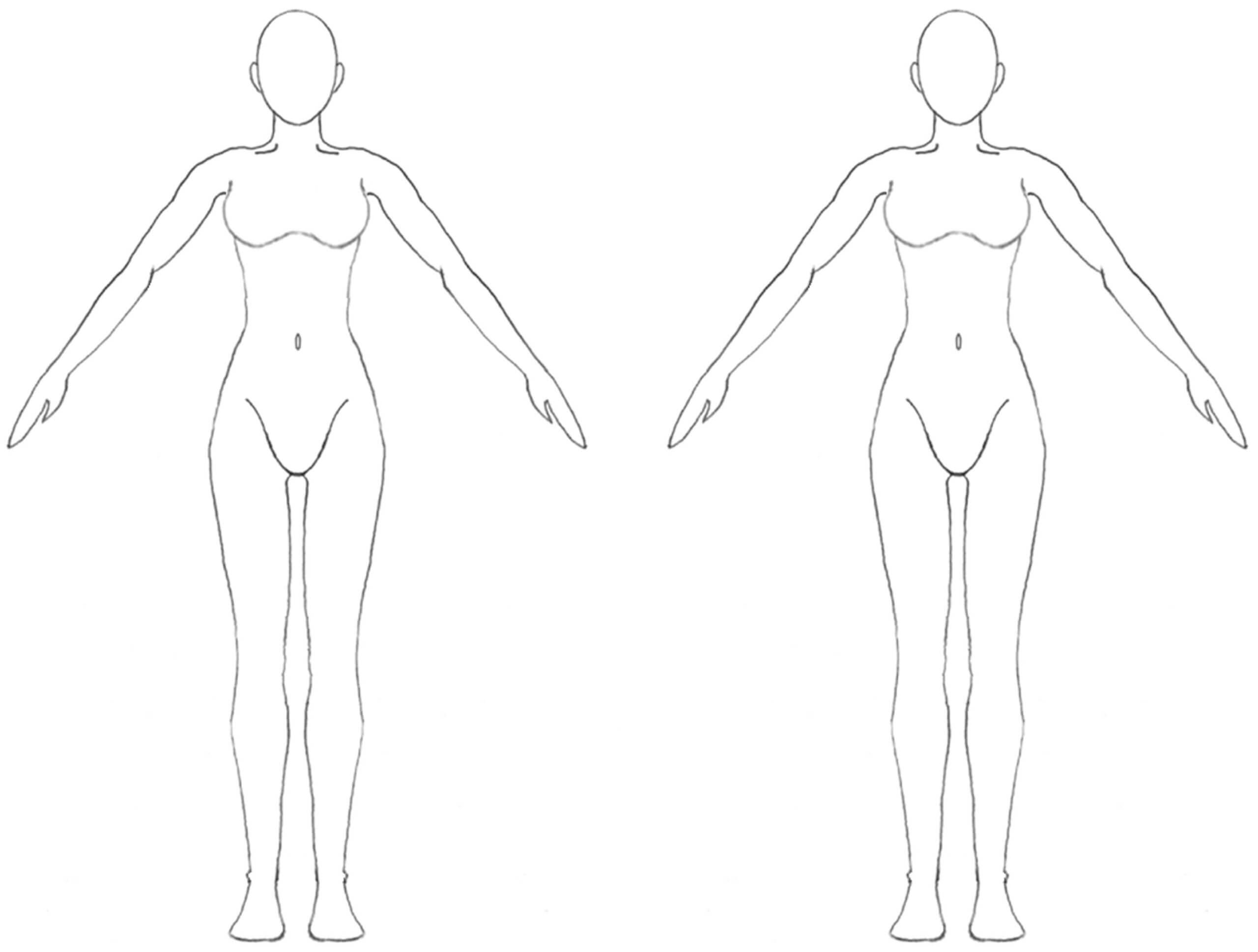 Free Blank Body, Download Free Clip Art, Free Clip Art On Regarding Blank Body Map Template