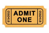 Free Blank Golden Ticket Template, Download Free Clip Art in Blank Admission Ticket Template