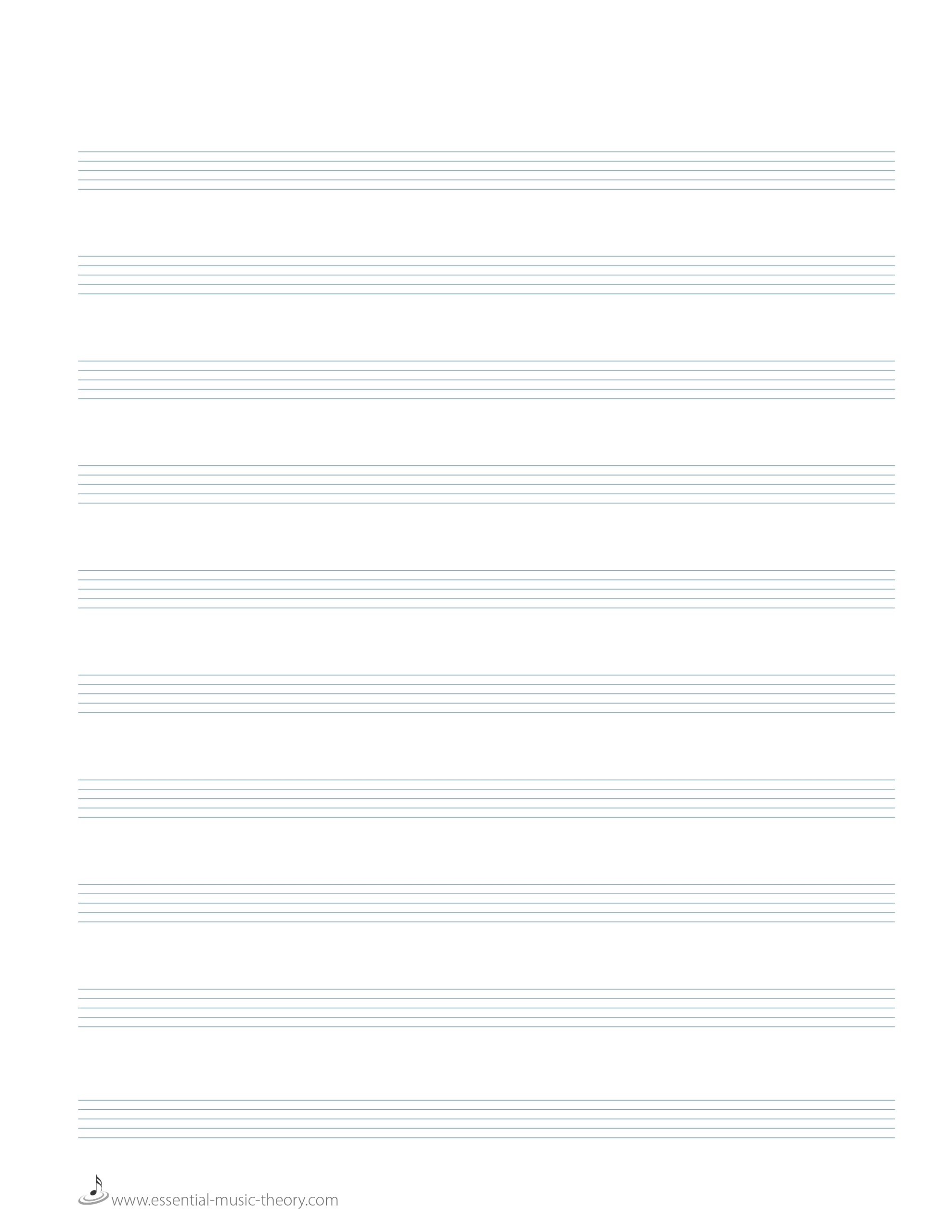 Free Blank Staff Paper – Tunu.redmini.co Throughout Blank Sheet Music Template For Word