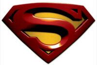 Free Blank Superman Logo, Download Free Clip Art, Free Clip inside Blank Superman Logo Template