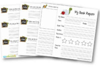 Free Book Report Template with regard to 2Nd Grade Book Report Template