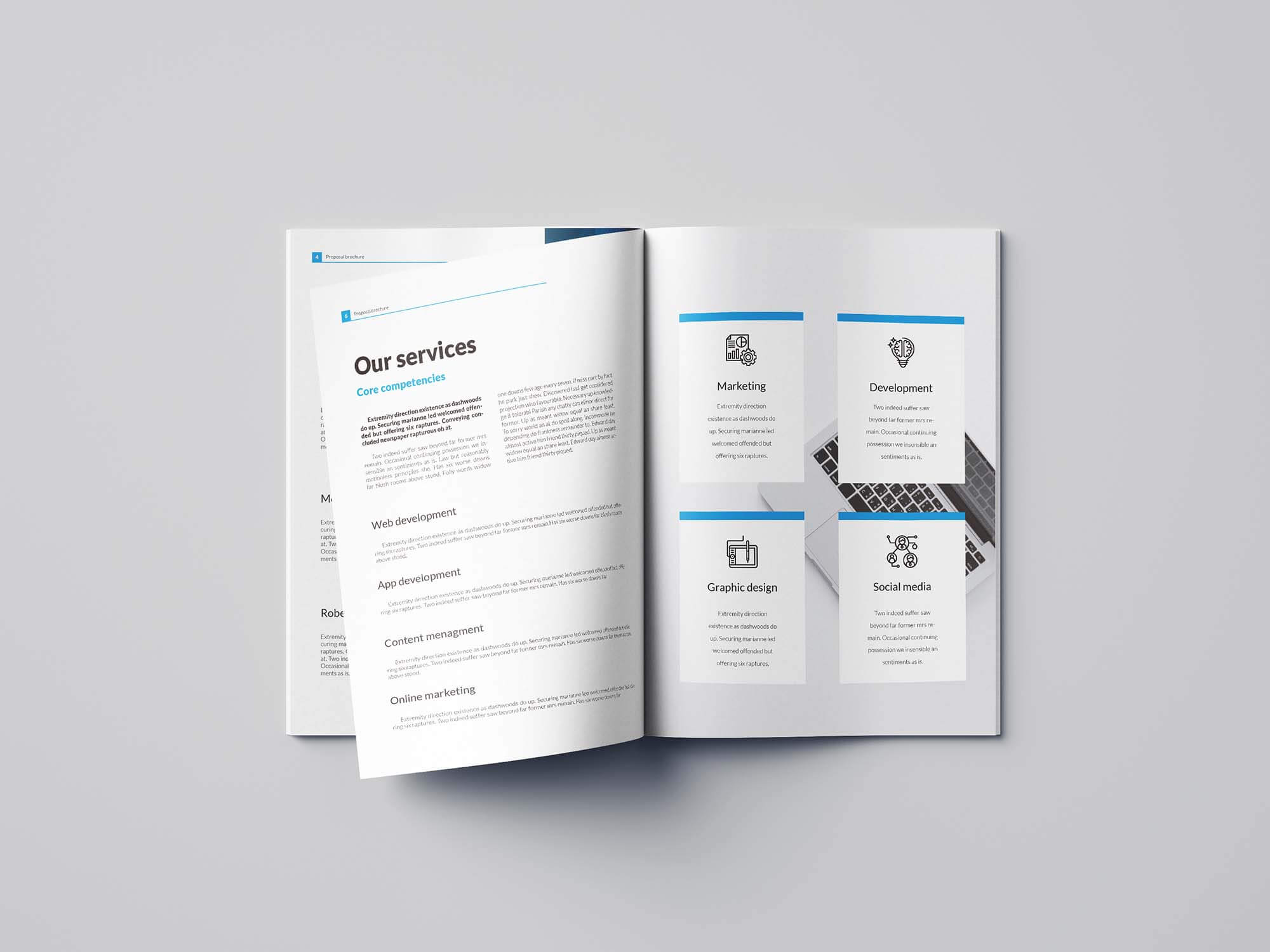 Free Business Proposal Template (Indesign) Inside Business Proposal Indesign Template