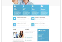 Free Business Responsive Website Template Website Template regarding Basic Business Website Template