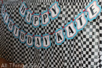 Free Cars Birthday Party Printables for Cars Birthday Banner Template