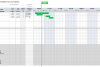 Free Construction Schedule Templates | Smartsheet within Building Construction Schedule Template