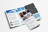 Free Corporate Trifold Brochure Template In Psd, Ai & Vector inside Adobe Tri Fold Brochure Template