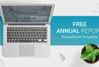 Free Download Annual Report Powerpoint Template For for Annual Report Ppt Template