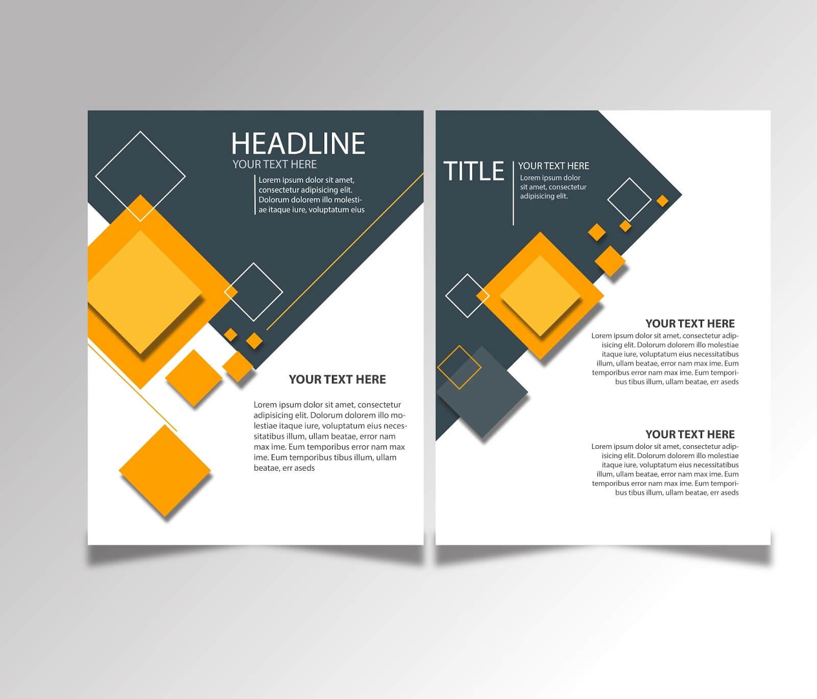Free Download Brochure Design Templates Ai Files - Ideosprocess For Ai Brochure Templates Free Download