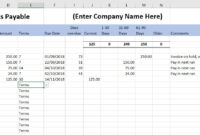 Free Excel Bookkeeping Templates – 14 Accounts Spreadsheets with regard to Business Ledger Template Excel Free
