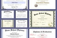 Free Homeschool Diploma Forms Online – A Magical Homeschool with 5Th Grade Graduation Certificate Template