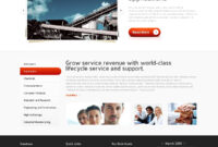 Free Html5 Website Template – Industrial Services intended for Business Website Templates Psd Free Download